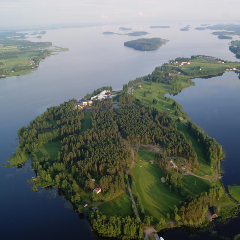 Järviseudun Golf - Koko lähtö elokuun arkipäivänä