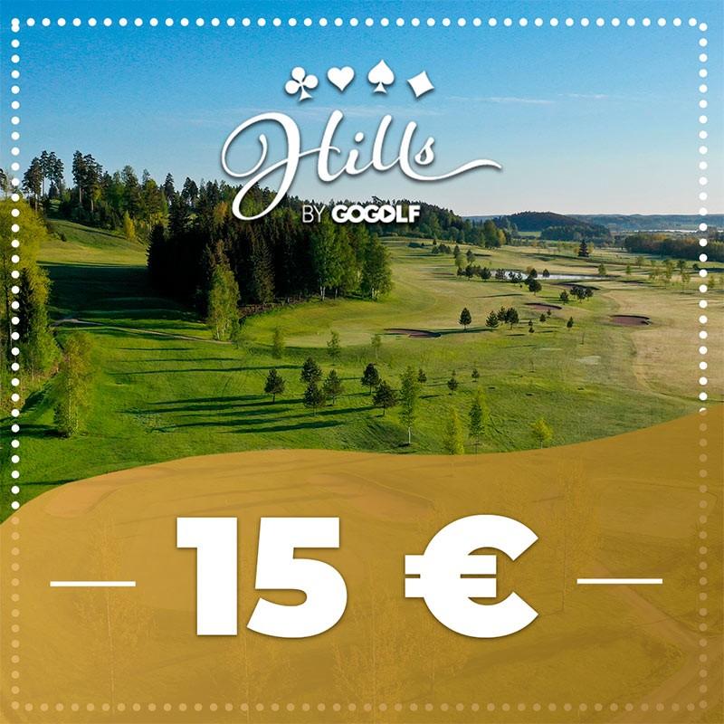 Hills by GoGolf arki green fee klo 12-15 lähtöihin