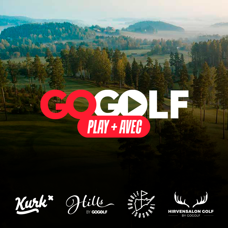 GoGolf Play + AVEC pelioikeus