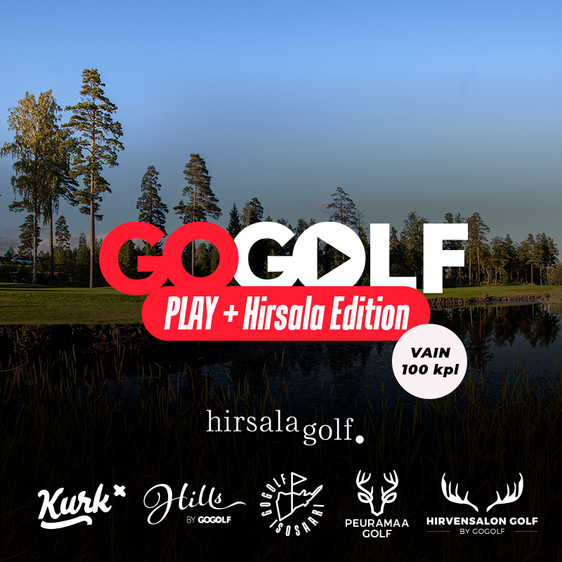 GoGolf Play Pelioikeus Hirsala Edition