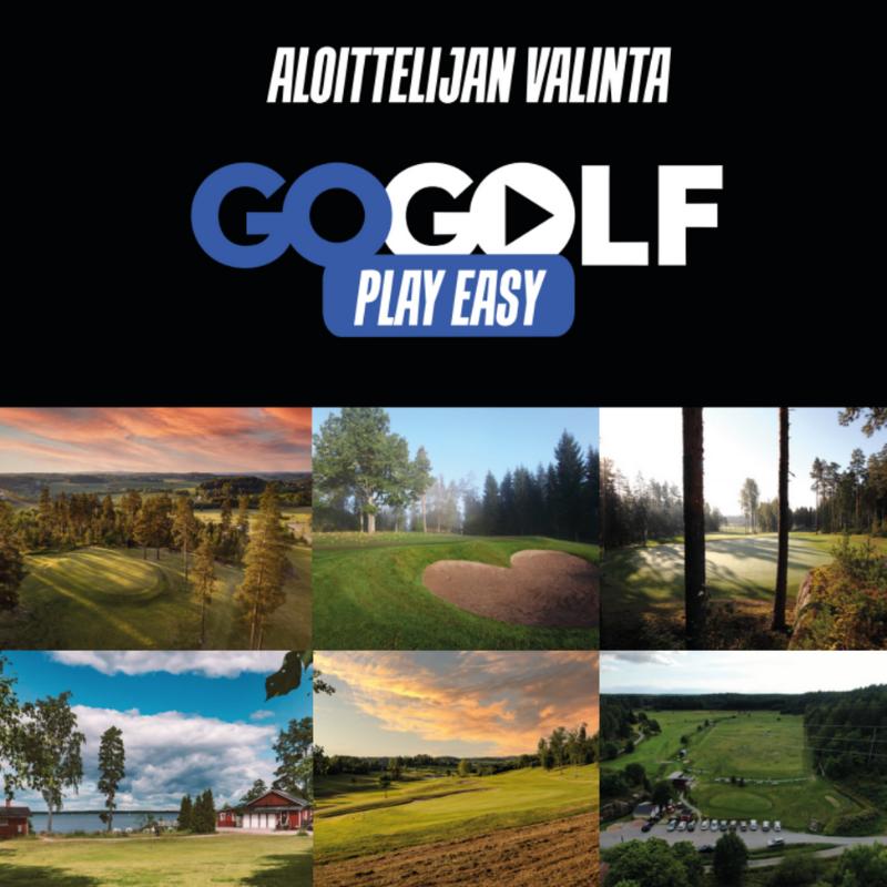 GoGolf Play Easy VKLP 1kk Pelioikeus (la-su)