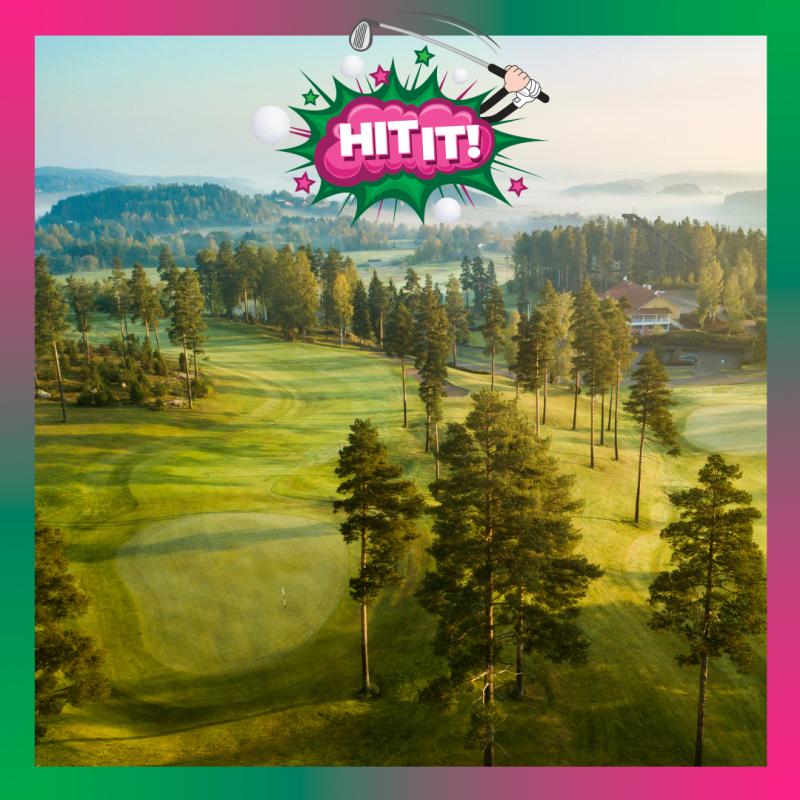 Hills by GoGolf Arki green fee - ennen kello 16