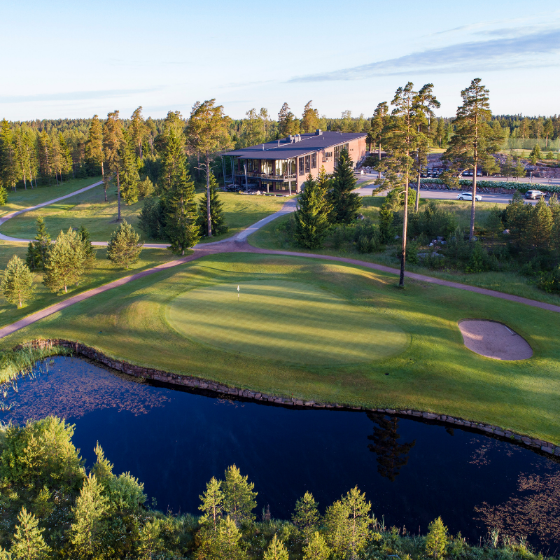 Hirsala Golf - Juhannus green fee